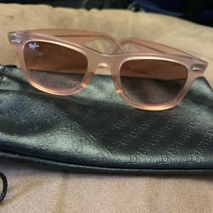 RayBan sunglasses- watermelon ice-pop